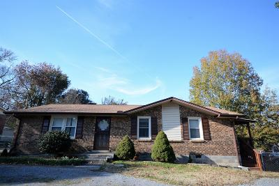Hendersonville Single Family Home Under Contract - Not Showing: 521 Savely Dr