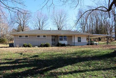 Vanleer Single Family Home For Sale: 1776 New Dry Hollow Rd