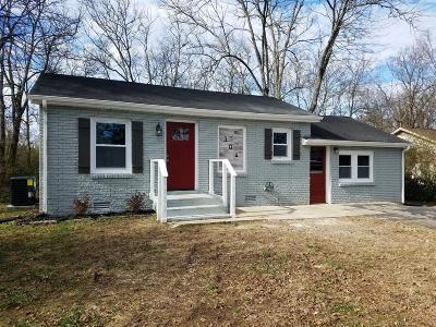 Lebanon Single Family Home Under Contract - Showing: 304 Neal St