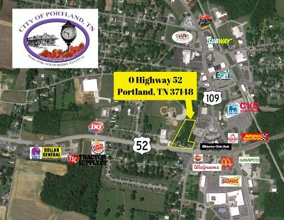 Sumner County Commercial For Sale: Highway 52