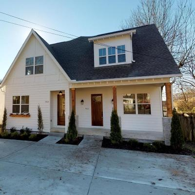 Nashville Single Family Home For Sale: 912 B West Ave
