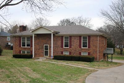 Clarksville Single Family Home Under Contract - Showing: 300 Justice Dr