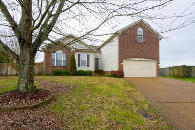 Mount Juliet Single Family Home For Sale: 1433 Hilltop Dr
