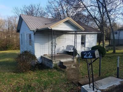 Clarksville Single Family Home For Sale: 22 Current St