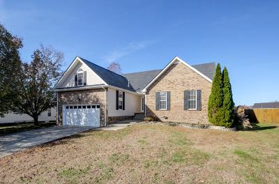 Clarksville Single Family Home Under Contract - Showing: 275 Shadyside Ln