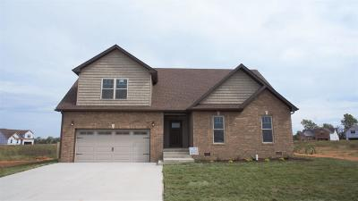 Clarksville Single Family Home Under Contract - Showing: 451 Autumnwood Farms