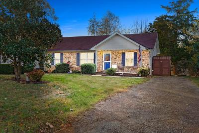 Christian County, Ky, Todd County, Ky, Montgomery County Single Family Home Under Contract - Showing: 2822 Nat Hoosier Ln