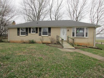 Clarksville Single Family Home Under Contract - Showing: 3779 Buck Rd