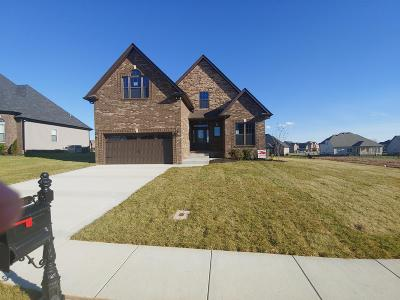 Clarksville Single Family Home For Sale: 1276 Upland Terrace