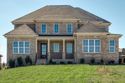 Nolensville Single Family Home For Sale: 108 Watertown Dr., Lot 1012