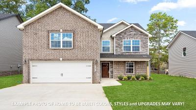 Clarksville Single Family Home For Sale: 3701 Chapel Hill Rd