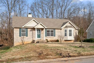 Clarksville Single Family Home Under Contract - Not Showing: 387 Brook Mead Dr