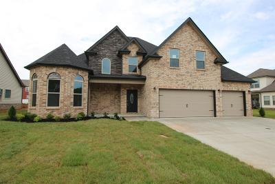 Clarksville Single Family Home Under Contract - Showing: 208 The Groves At Hearthstone