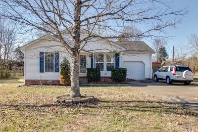 Lebanon Single Family Home Under Contract - Showing: 1410 Wrightford Dr