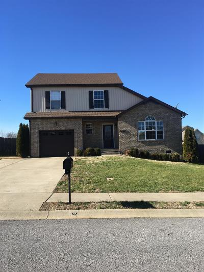 Clarksville Single Family Home Under Contract - Not Showing: 987 Dwight Eisenhower Way