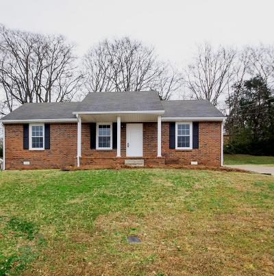 Christian County, Ky, Todd County, Ky, Montgomery County Single Family Home Under Contract - Not Showing: 715 Green Valley Ct