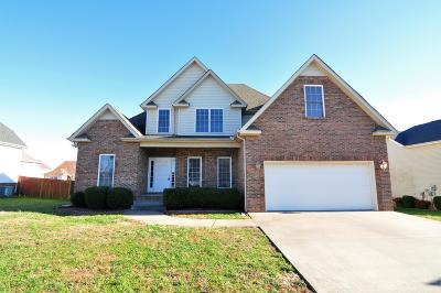 Clarksville Single Family Home For Sale: 3713 Meadow Knoll Ct