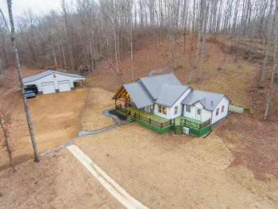 Lobelville Single Family Home Under Contract - Not Showing: 1300 Red Bank Creek Rd