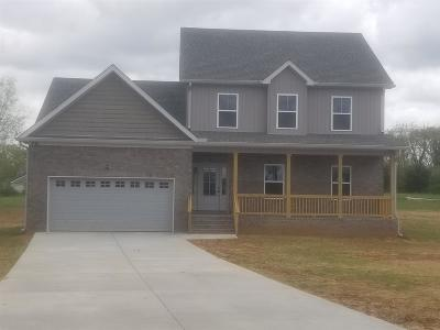 Marshall County Single Family Home For Sale: 1474 Cj Ct.