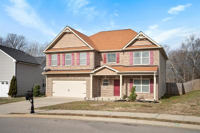 Clarksville Single Family Home Under Contract - Showing: 121 Irishman Way
