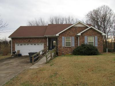 Clarksville Single Family Home For Sale: 3719 Lavender Cir