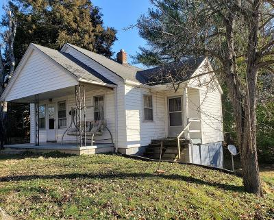 Clarksville Single Family Home Under Contract - Showing: 111 Rudolph Dr