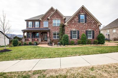 Franklin Single Family Home For Sale: 6110 Stags Leap Way