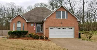 Gallatin Single Family Home For Sale: 1281 Cromwell Ct