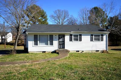 Lewisburg Single Family Home Under Contract - Showing: 681 Jackson Ave