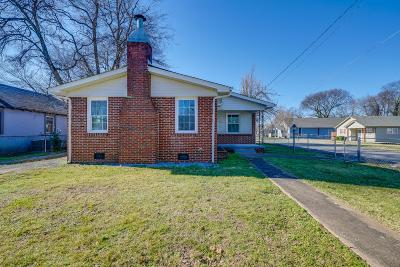 Murfreesboro Single Family Home Under Contract - Not Showing: 600 S Highland Ave