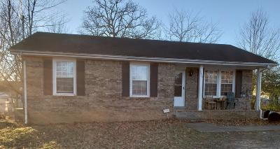 Clarksville Single Family Home For Sale: 3430 Pembroke Rd