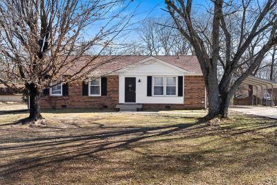 Clarksville Single Family Home Under Contract - Showing: 2505 Atwood Dr