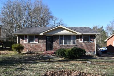 Single Family Home Under Contract - Showing: 1230 Briarville Rd