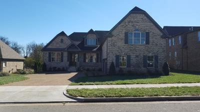 Sumner County Single Family Home For Sale: 110 Nogs Gdn