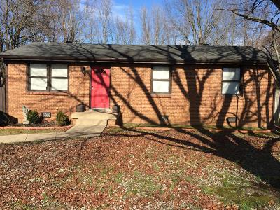 Clarksville Single Family Home For Sale: 723 Inver Ln