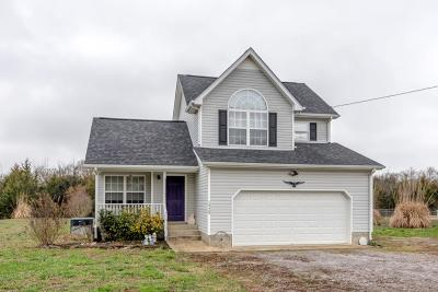 Murfreesboro Single Family Home Under Contract - Not Showing: 1520 J D Todd Rd
