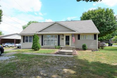 Christian County Single Family Home For Sale: 2698 Nelson Dr