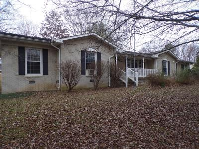 Columbia TN Single Family Home Under Contract - Not Showing: $138,000