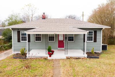 Old Hickory Single Family Home For Sale: 1400 Elliston St