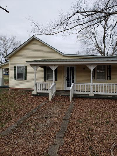 Clarksville Single Family Home Under Contract - Showing: 3281 N Hinton Rd