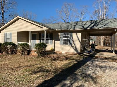 Nunnelly Single Family Home Under Contract - Not Showing: 6723 Woodland Park Cir