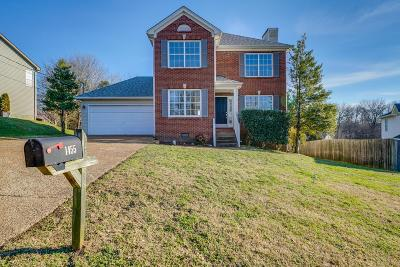 Old Hickory Single Family Home For Sale: 1455 Brighton Cir