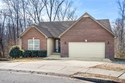 Clarksville Single Family Home Under Contract - Not Showing: 2562 Alex Overlook Way