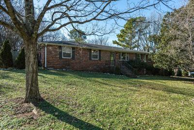 Nashville Single Family Home For Sale: 6741 Currywood Dr