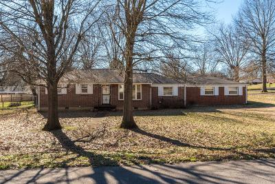 Nashville Single Family Home For Sale: 3810 Hilltop Ave