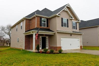 Clarksville TN Single Family Home For Sale: $247,900