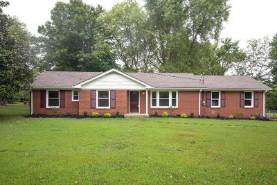 Mount Juliet Single Family Home For Sale: 608 Hillview Dr