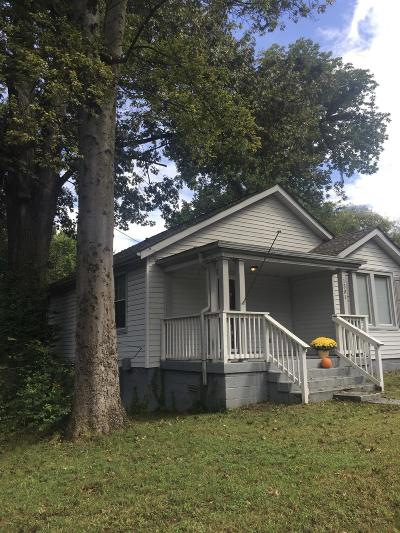 Nashville Single Family Home Under Contract - Not Showing: 1301 Otay St