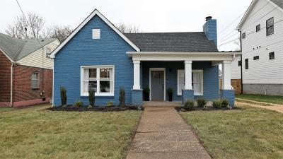 Nashville Single Family Home For Sale: 1808 Heiman St