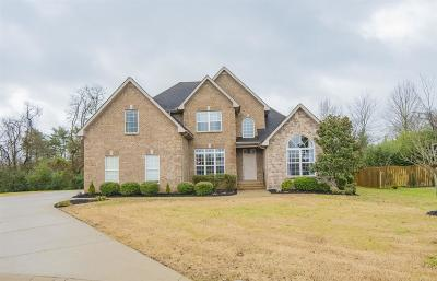 Murfreesboro Single Family Home Under Contract - Not Showing: 538 Savannah Rdg